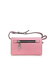 Pink Fleur Gotham Wallet w/Leather Strap - Marc Jacobs
