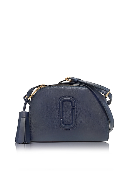 Image of Marc Jacobs Shutter Camera Bag In Pelle Craquele con Tracolla