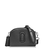 Marc Jacobs Shutter Camera Bag in Pelle Nera con Tracolla - marc jacobs - it.forzieri.com