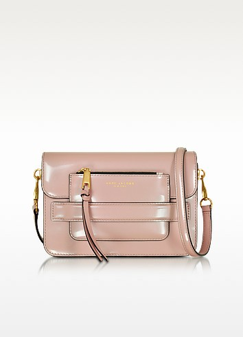 Madison Rose Smoke Patent Leather Medium Shoulder Bag - Marc Jacobs