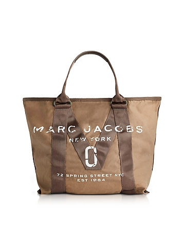 New Logo French Grey Cotton Tote