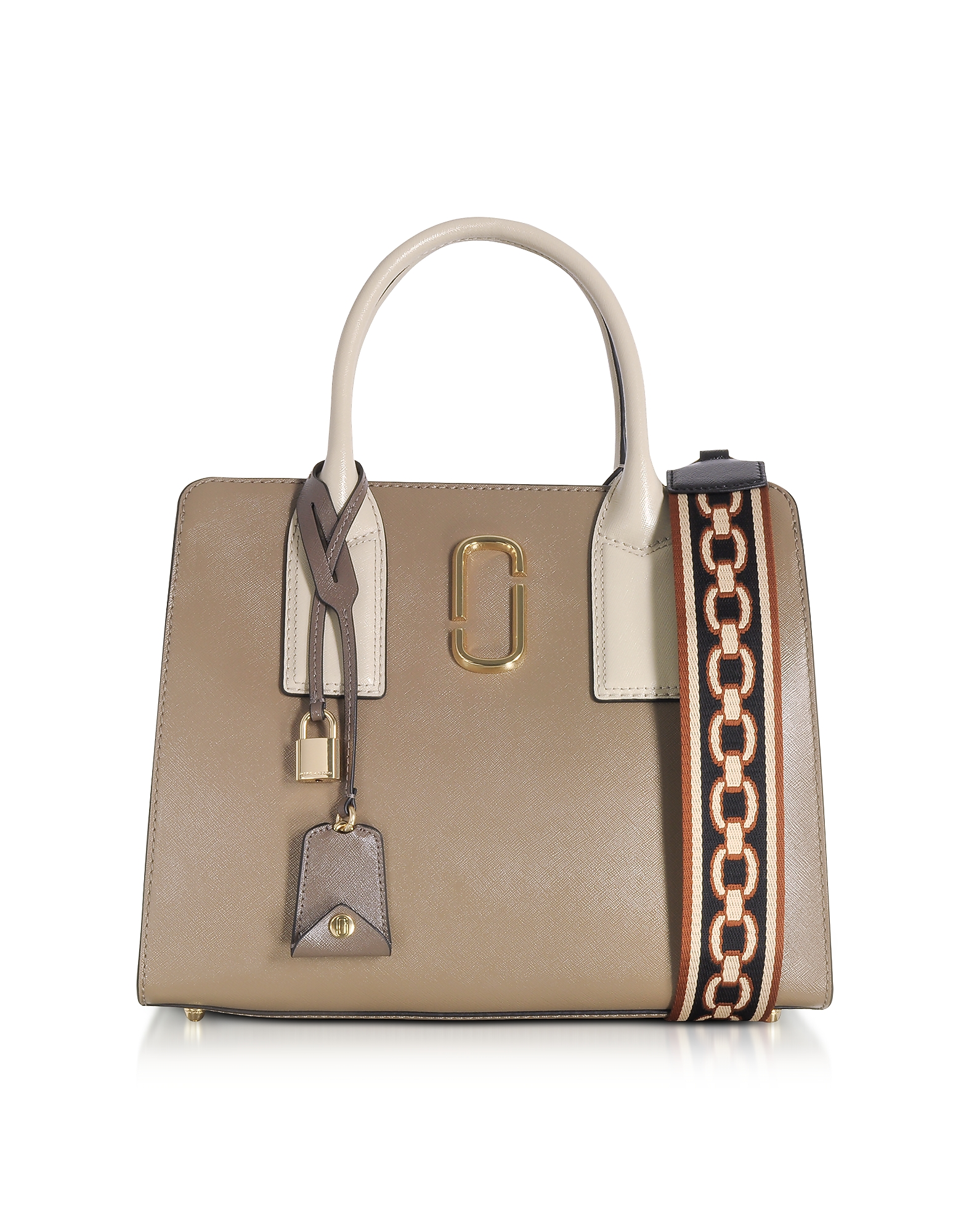 Marc Jacobs Handbags, French Grey Multi Big Shot Tote Bag