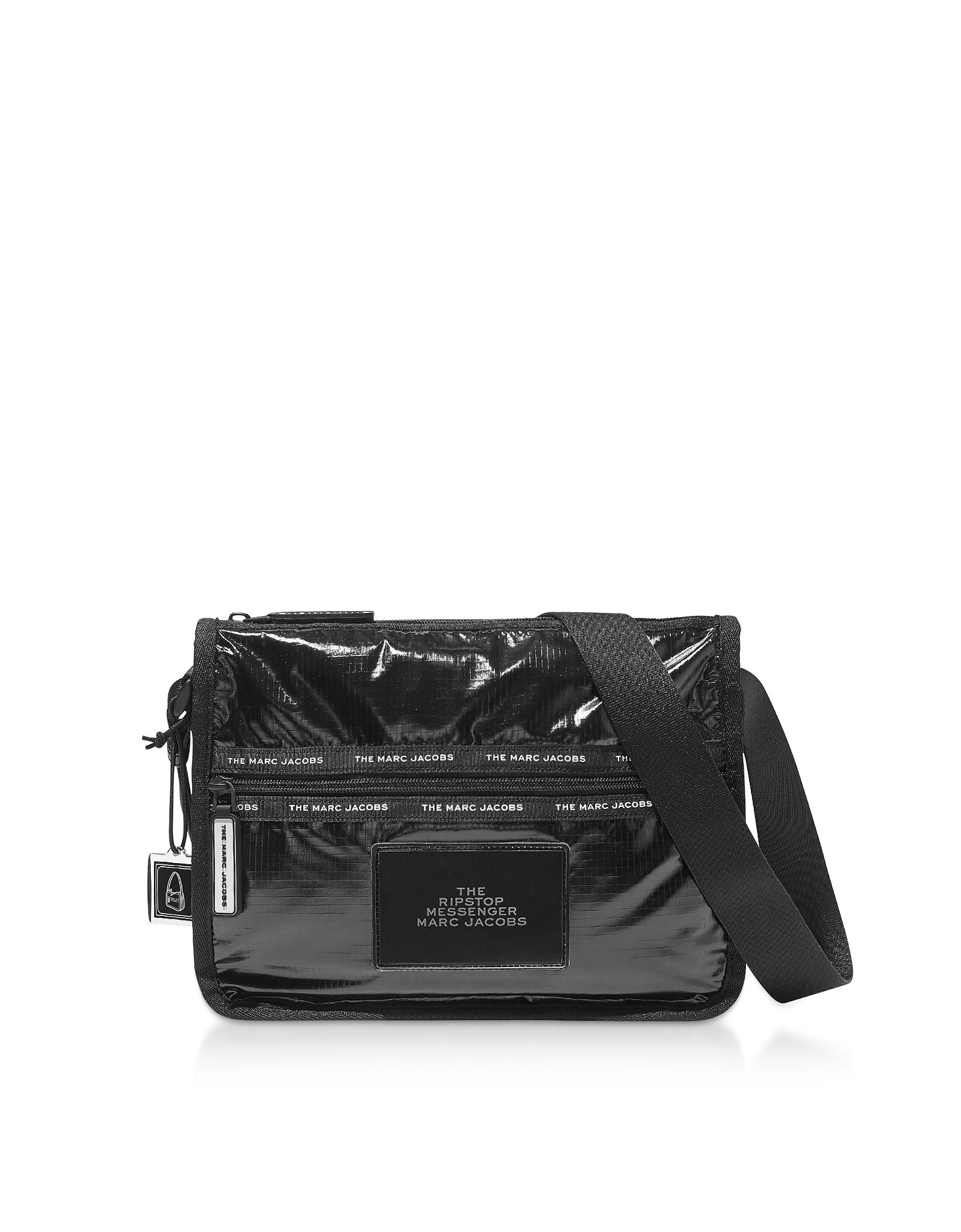 Marc Jacobs  Handbags The Ripstop Black Nylon Messenger Bag