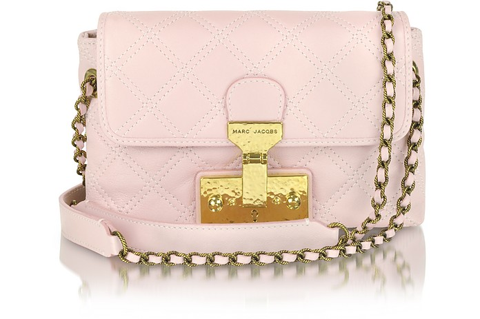 The Single - Schultertasche aus Leder in pink - Marc Jacobs