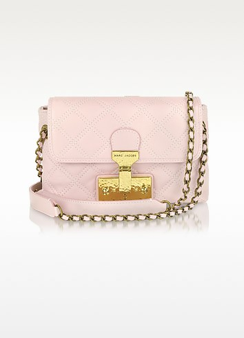 The Single Light Pink Leather Shoulder Bag - Marc Jacobs  雅克博