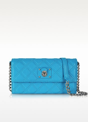 Quilted Leather Ginger Crossbody Handbag - Marc Jacobs