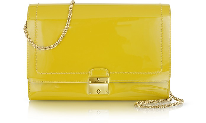 All in One Patent Leather Clutch - Marc Jacobs
