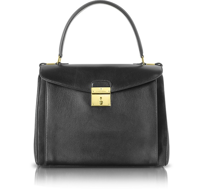 Metropolitan Flap-Top Satchel Bag - Marc Jacobs