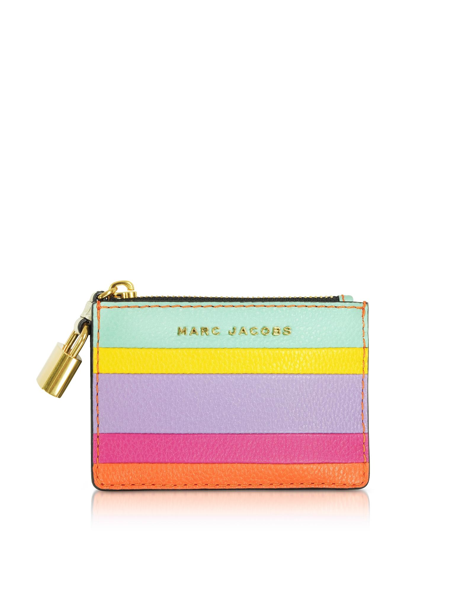 The Grind - Кожаный Бумажник для Карт с Цветными Блоками
