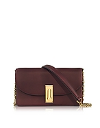 Marc Jacobs West End Pochette in Pelle Rubino con Tracolla Dorata - marc jacobs - it.forzieri.com