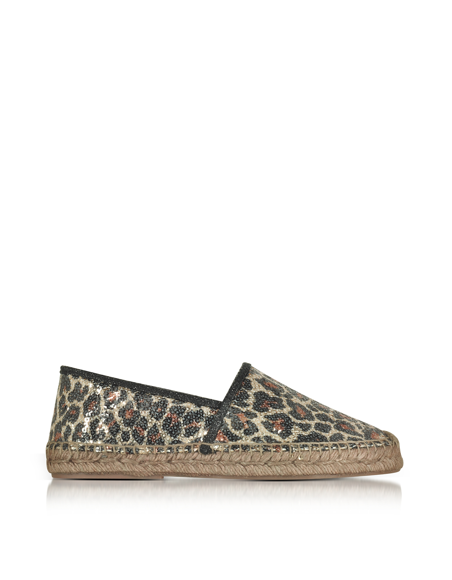 Marc Jacobs Shoes, Sienna Gold & Multicolor Animal Print Espadrilles