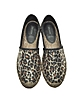 Sienna Gold & Multicolor Animal Print Espadrilles - Marc Jacobs