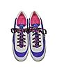 Astor Purple & Multicolor Nylon Sneaker w/Lightning Bolt Logo - Marc Jacobs
