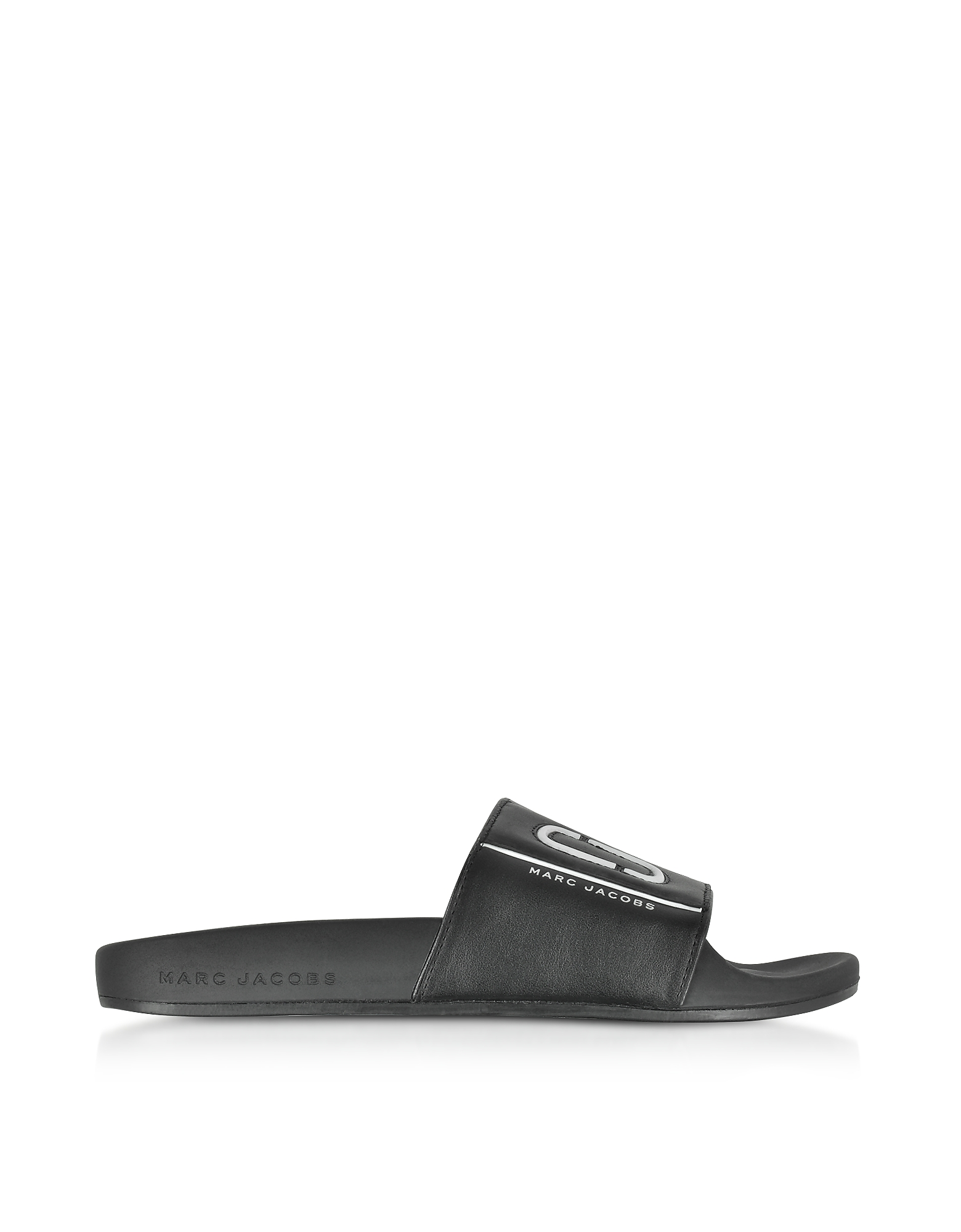Marc Jacobs Shoes, Black Leather Cooper Sport Slide