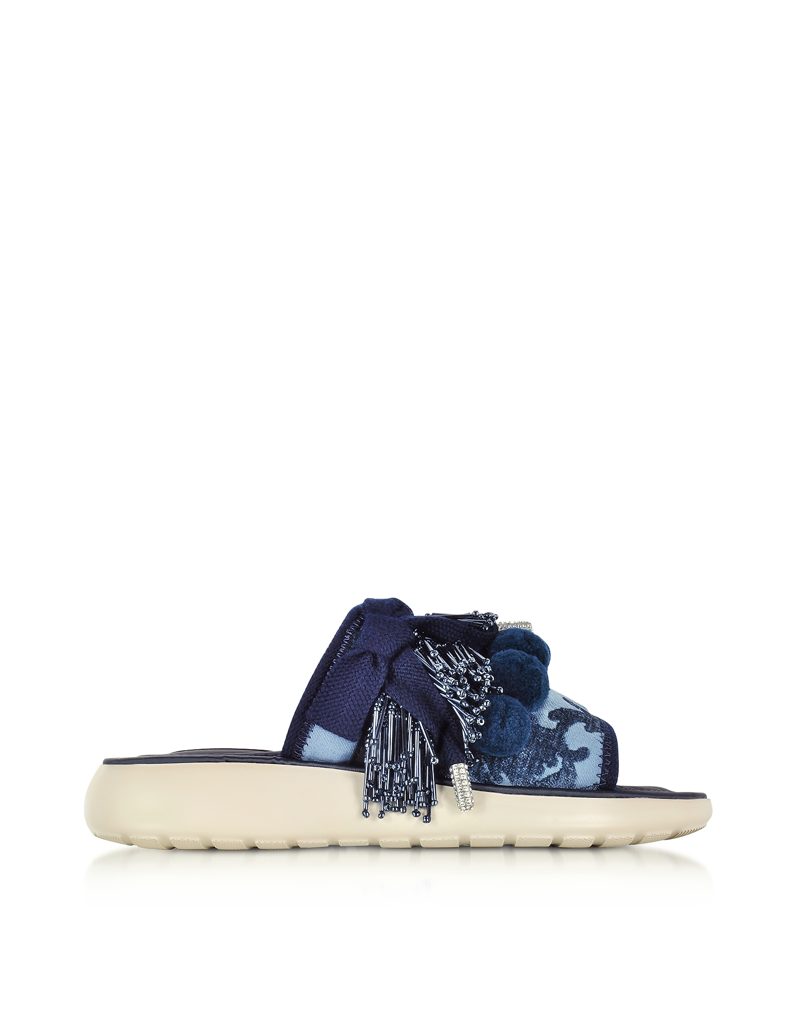Marc Jacobs Shoes, Emerson Pompom Denim Sport Sandal