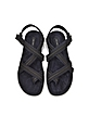 Suede and Grosgrain Wedge Flat Sandal - Marc Jacobs