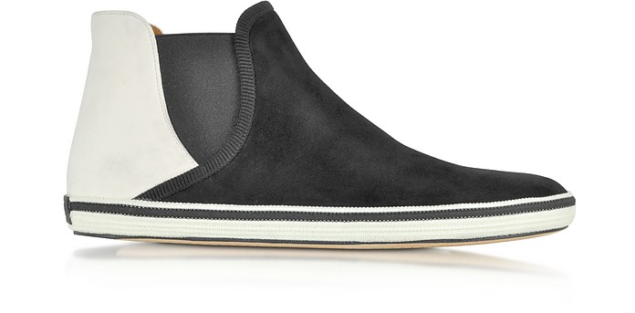 Slip on Suede High Top Sneaker - Marc Jacobs