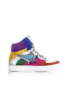 Rainbow High Top Sneaker aus Leder - Marc Jacobs