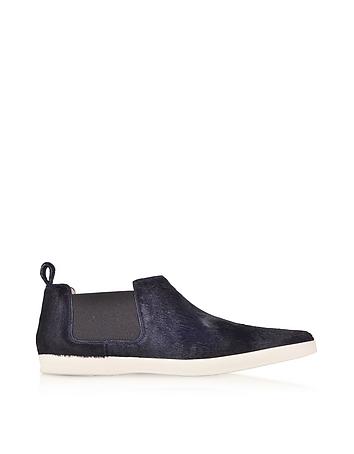 Marc Jacobs - Luxor Navy Blue Haircalf Sneaker