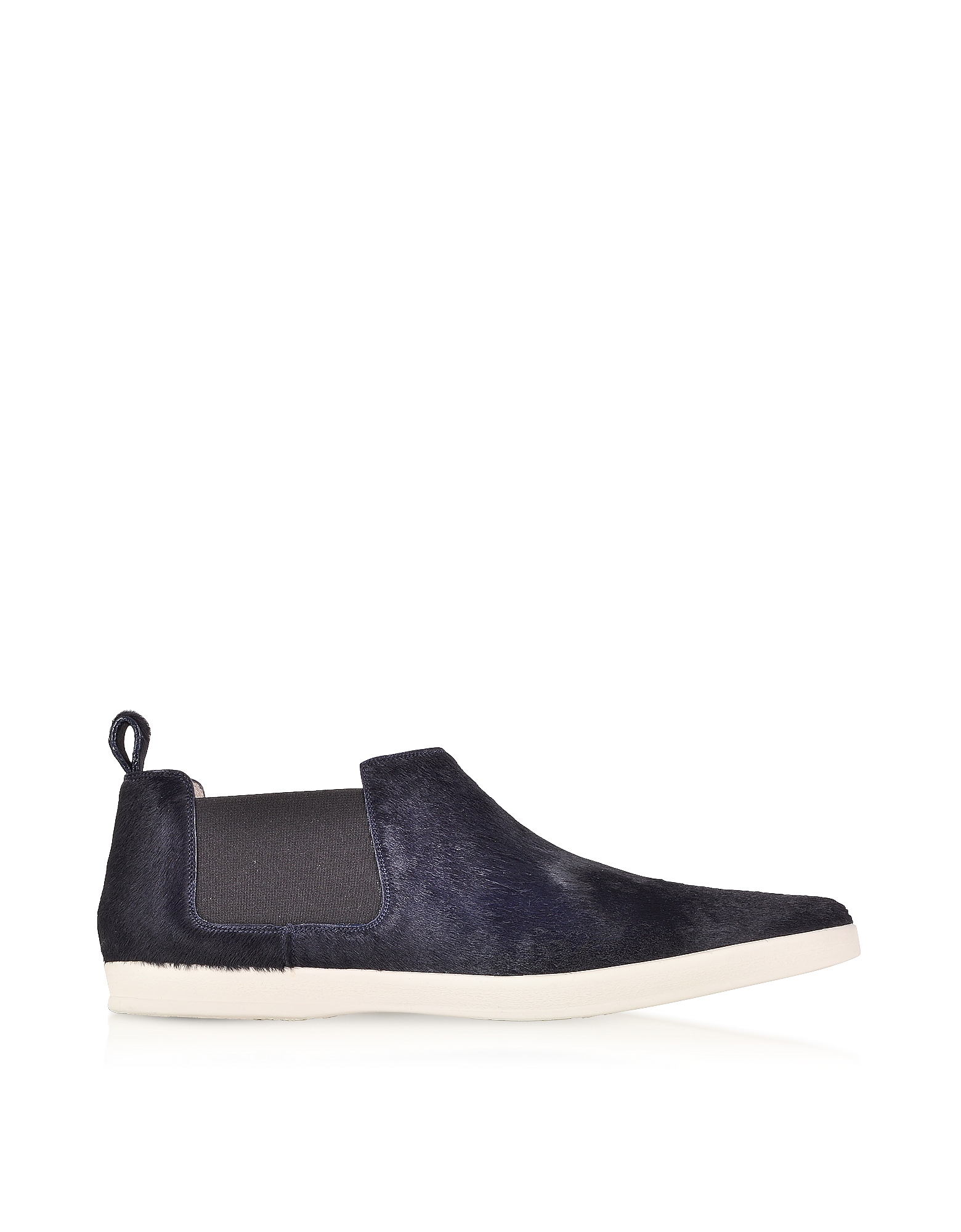 Marc Jacobs Shoes, Luxor Navy Blue Haircalf Sneaker