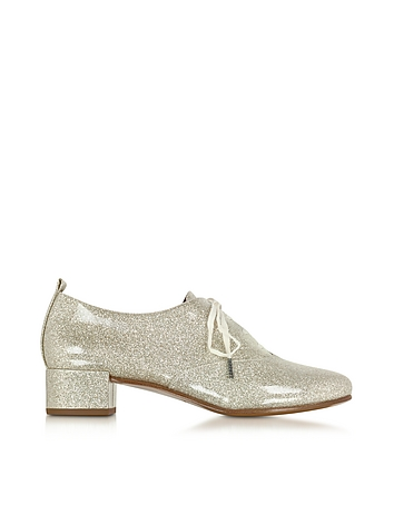 Betty Lace Up Oxford Diamond Leather Jazz Shoe