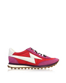 Red Multi Astor Lightning Bolt Jogger - Marc Jacobs