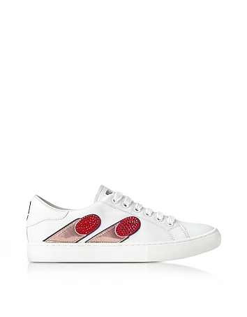 Marc Jacobs - White Empire Finger Low Top Sneaker