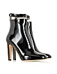 Black Patent Leather Ankle Strap Boot - Marc Jacobs