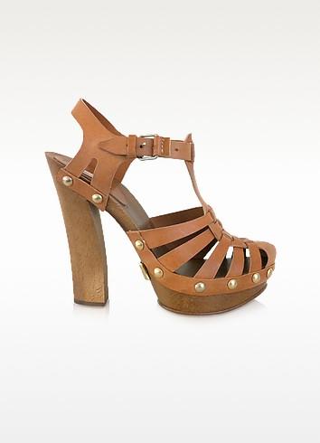Leather Sandal Clogs - Marc Jacobs