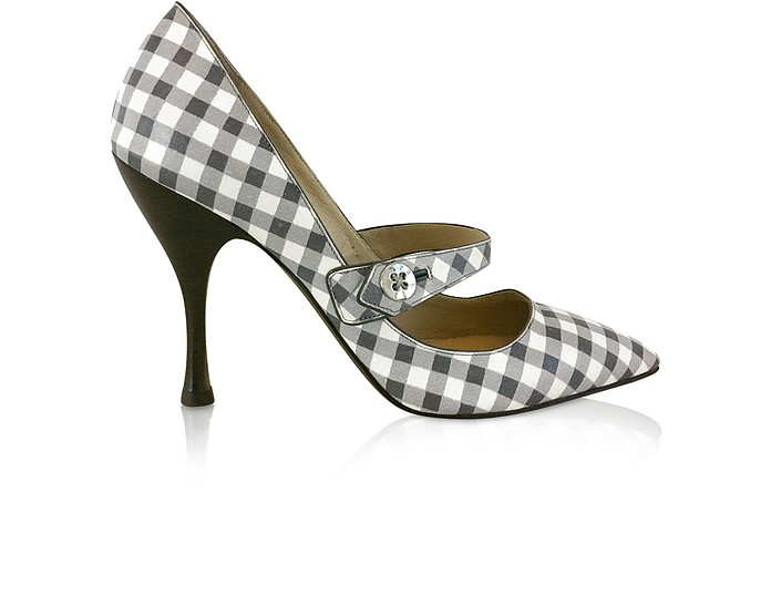 Gingham Pumps - Marc Jacobs