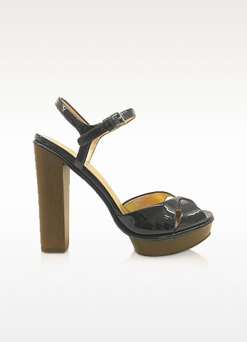 Dries - Black Patent Sandals - Marc by Marc Jacobs