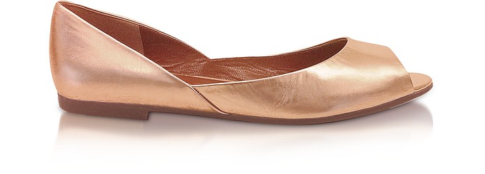 New Love China - Rose Gold Leather Shoes - Marc by Marc Jacobs