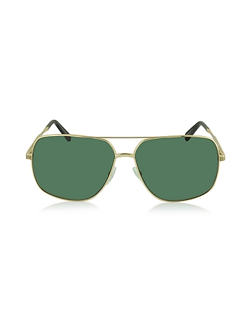 MJ 594 / S Metal Aviator Sunglasses