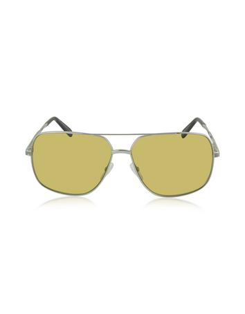 marc jacobs male  mj 594s metal aviator sunglasses