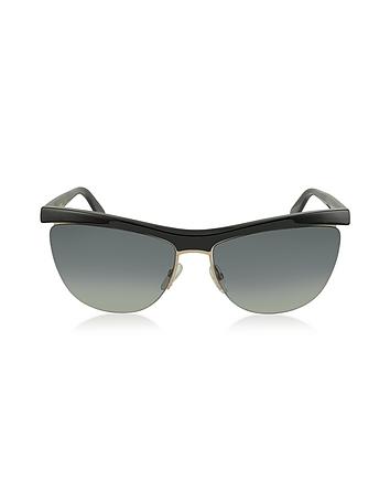 Marc Jacobs - MJ 533/S 8OGDX Frameless Black Acetate Women's Sunglasses