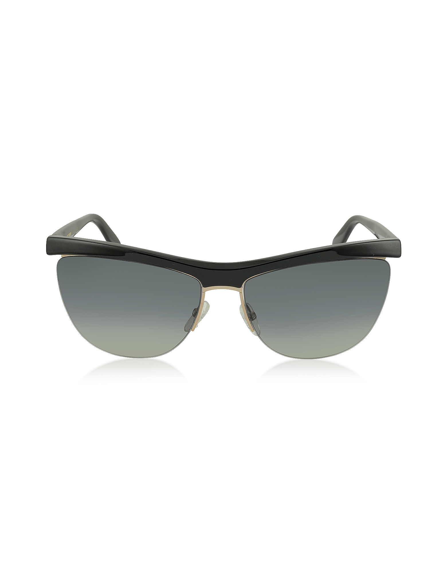 Marc Jacobs Sunglasses, MJ 533/S 8OGDX Frameless Black Acetate Women's Sunglasses