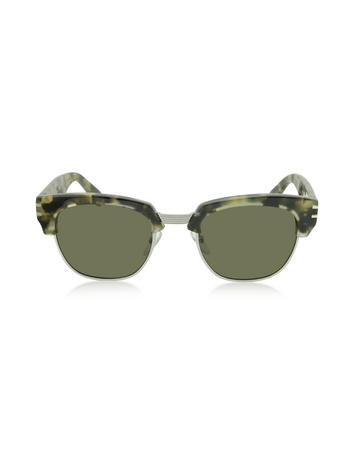 marc jacobs female mj 590s classic browline acetate womens sunglasses