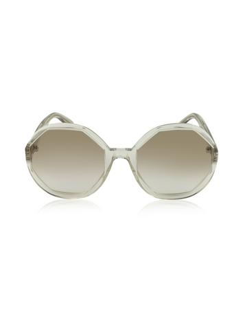 marc jacobs female mj 584s honey octagon womens sunglasses