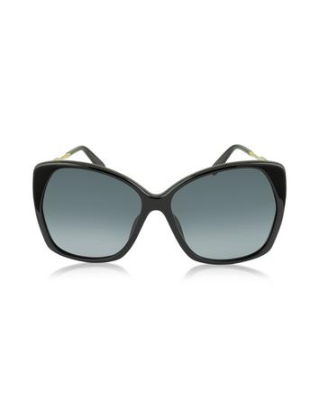 marc jacobs female mj 614s square oversized womens sunglasses