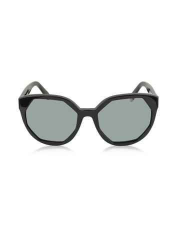 marc jacobs female mj 585s oversized round sunglasses