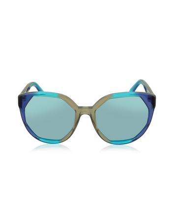 marc jacobs female  mj 585s oversized round sunglasses