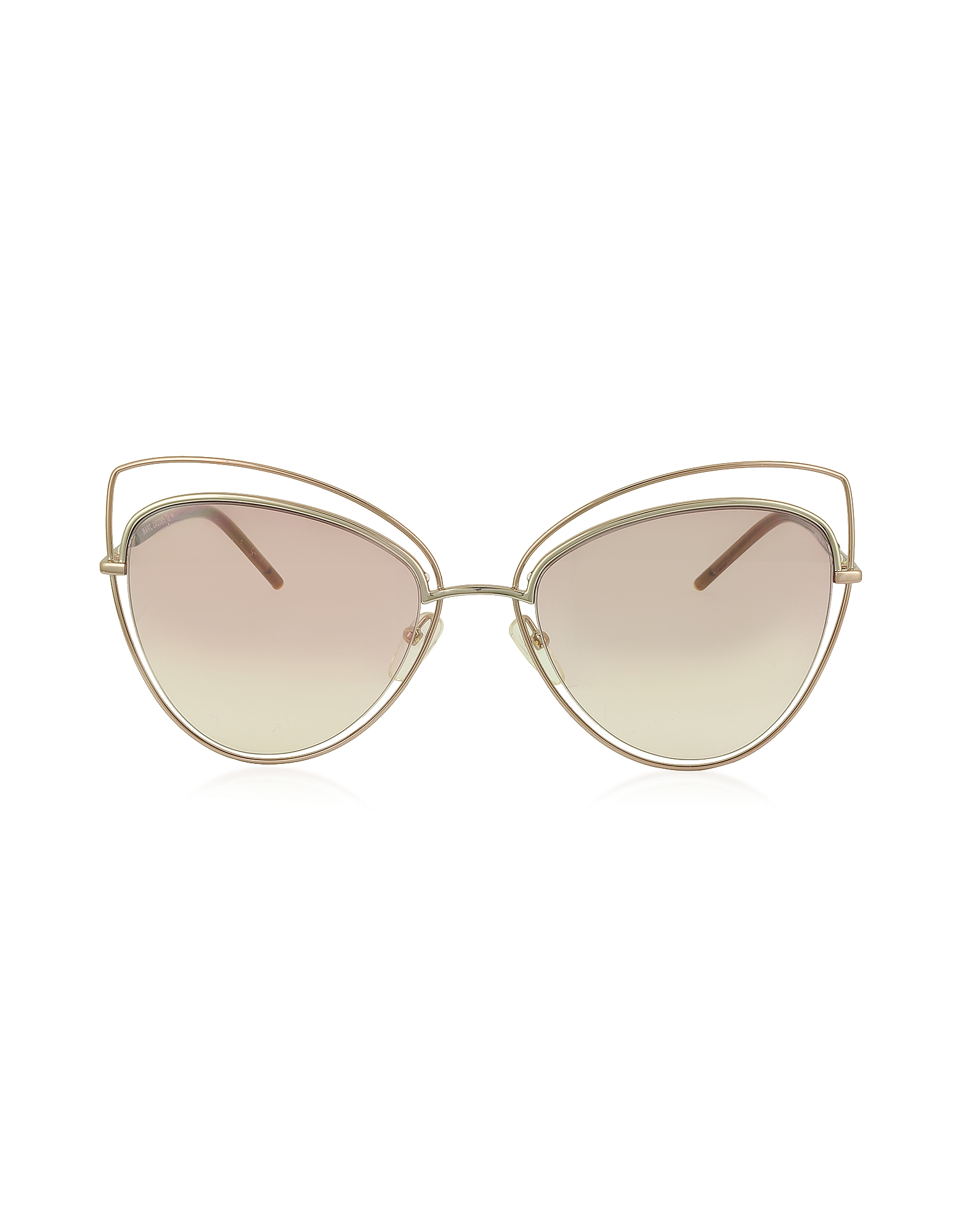 MARC 8/S Metal and Acetate Cat Eye Women's Sunglasses
