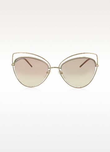 MARC 8/S Metal and Acetate Cat Eye Women's Sunglasses  - Marc Jacobs