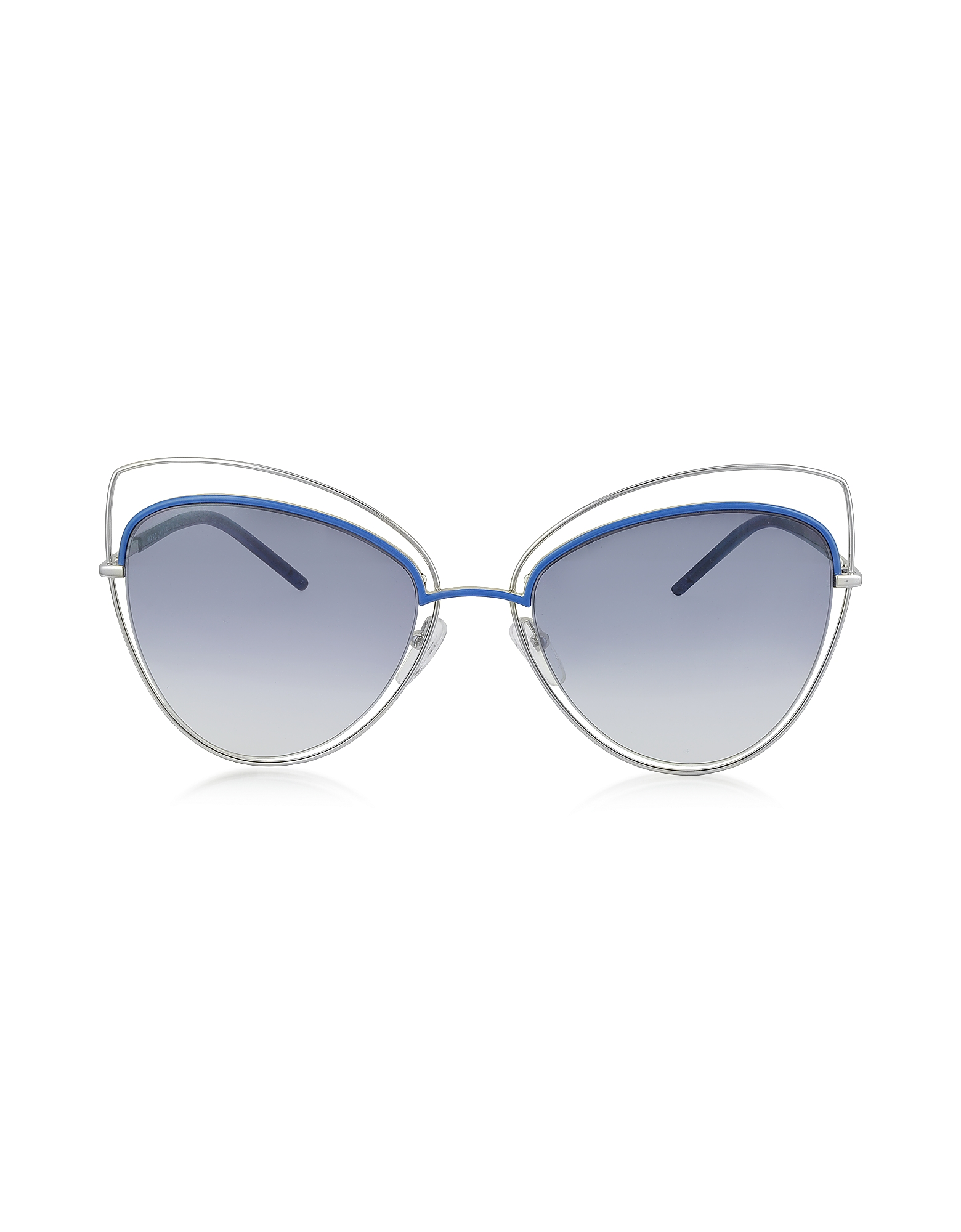 Marc Jacobs Designer Sunglasses, MARC 8/S Metal and Acetate Cat Eye Women's Sunglasses