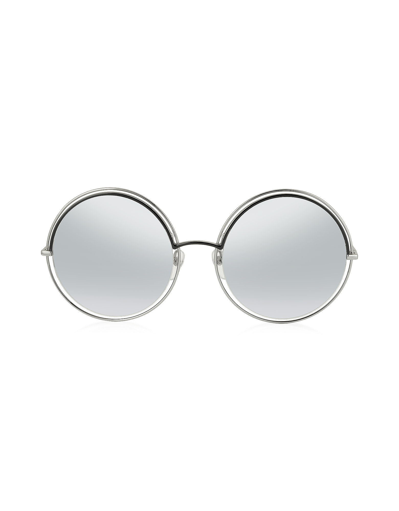 Marc Jacobs Sunglasses, MARC 11/S Metal & Acetate Round Oversized Women's Sunglasses