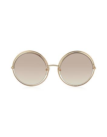 MARC 11/S Metal & Acetate Round Oversized Women's Sunglasses