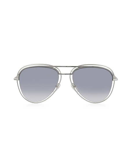 Foto Marc Jacobs MARC 7/S Occhiali da Sole Aviator in Acetato e Metallo