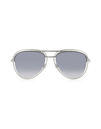 Marc Jacobs - MARC 7/S Metal & Acetate Aviator Women's Sunglasses
