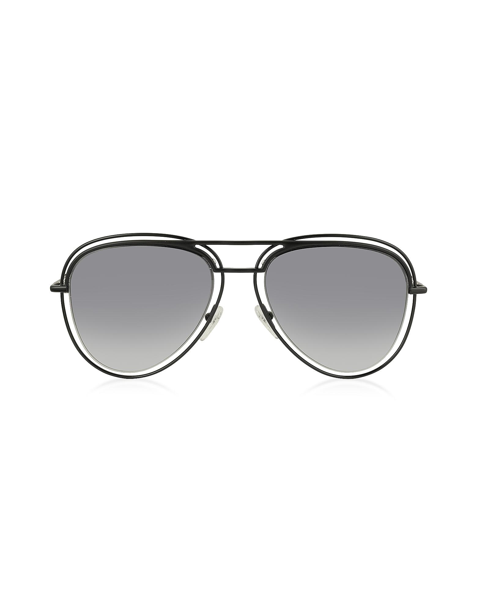 Marc Jacobs Designer Sunglasses, MARC 7/S Metal & Acetate Aviator Women's Sunglasses