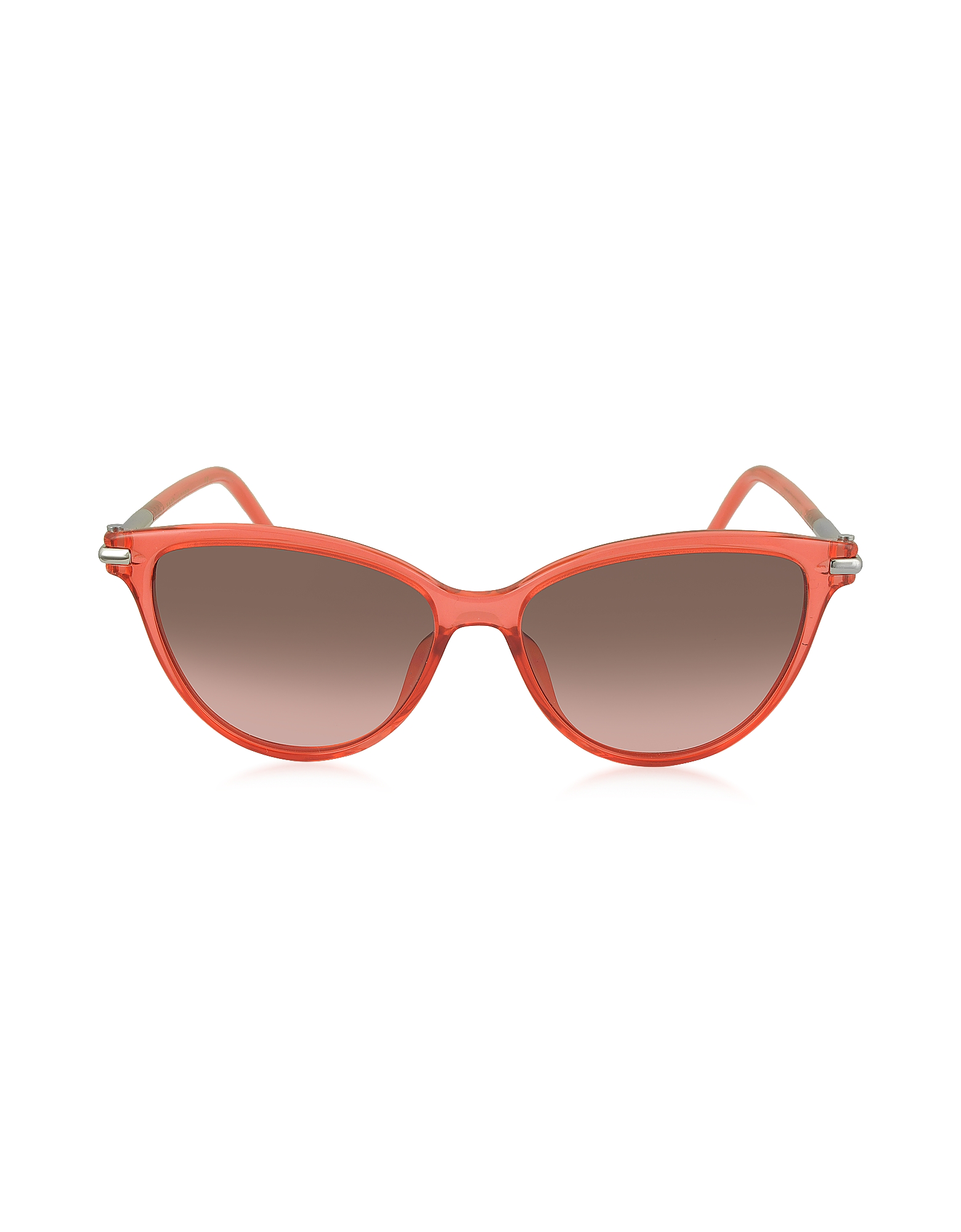 MARC 47/S TOTFX - Коралловые Женские Солнечные Очки в Оправе Кошачий Глаз из Ацетата